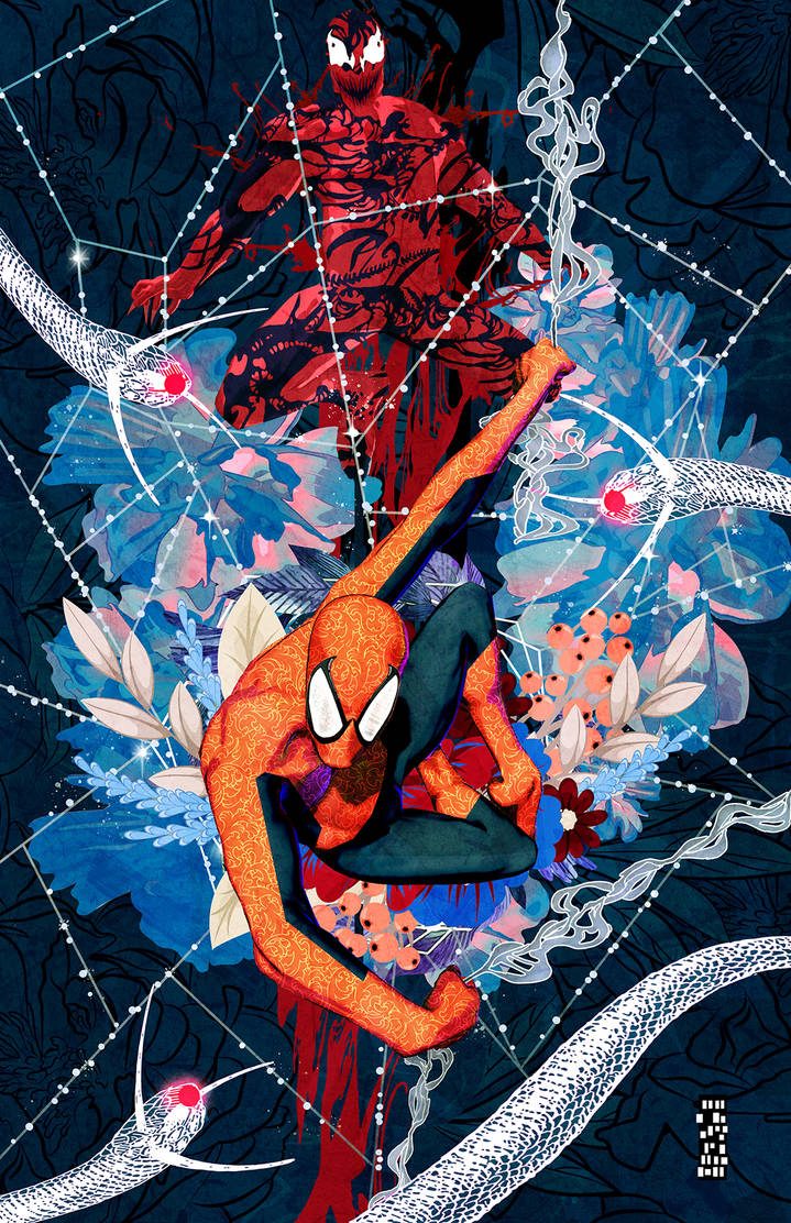 Spider Man and Carnage Blue