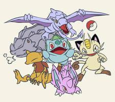 Pokemon Team GBRY 2007 by Rhydon
