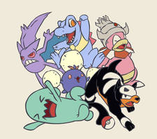 Pokemon Team GS 2007 by Rhydon