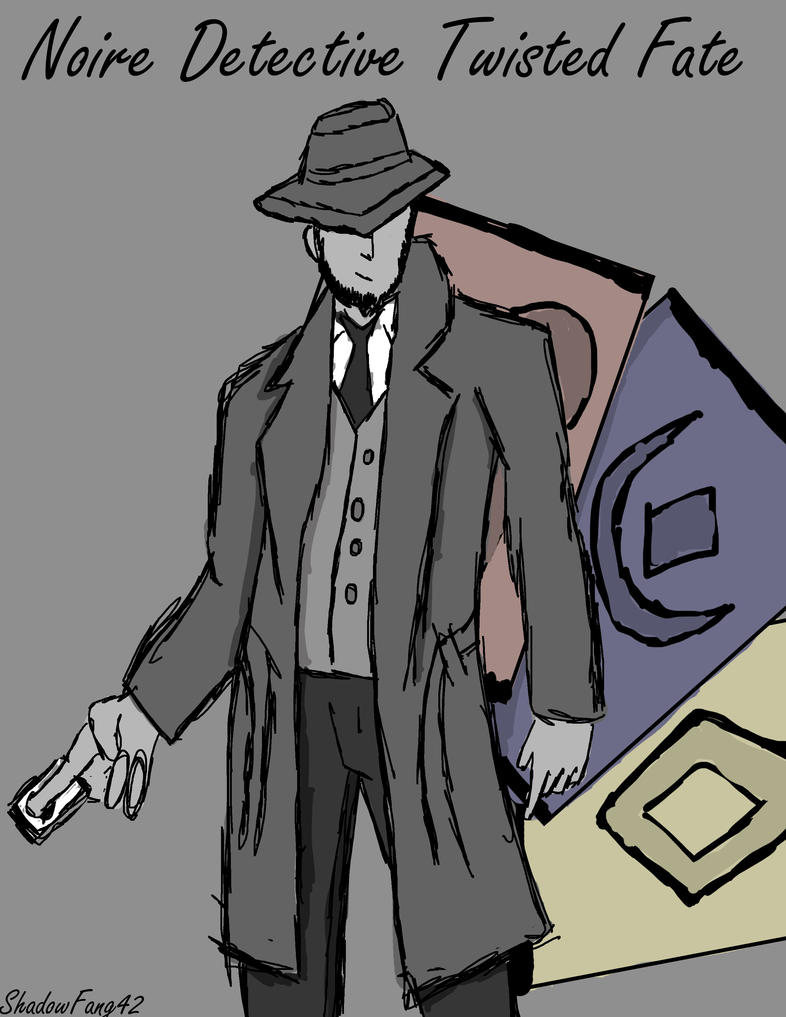 Noire Detective Twisted Fate by ShadowFang42