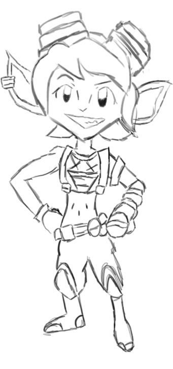 Tristana: The Cutie Bombadootie by ShadowFang42