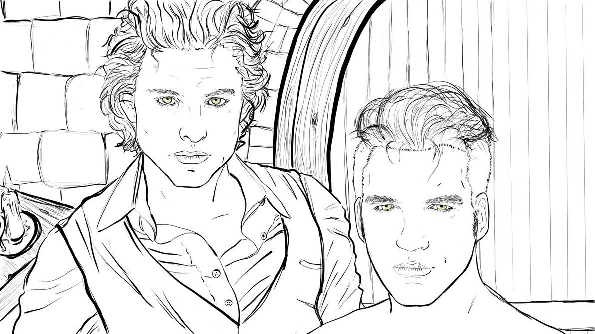 Brothers Lineart Version