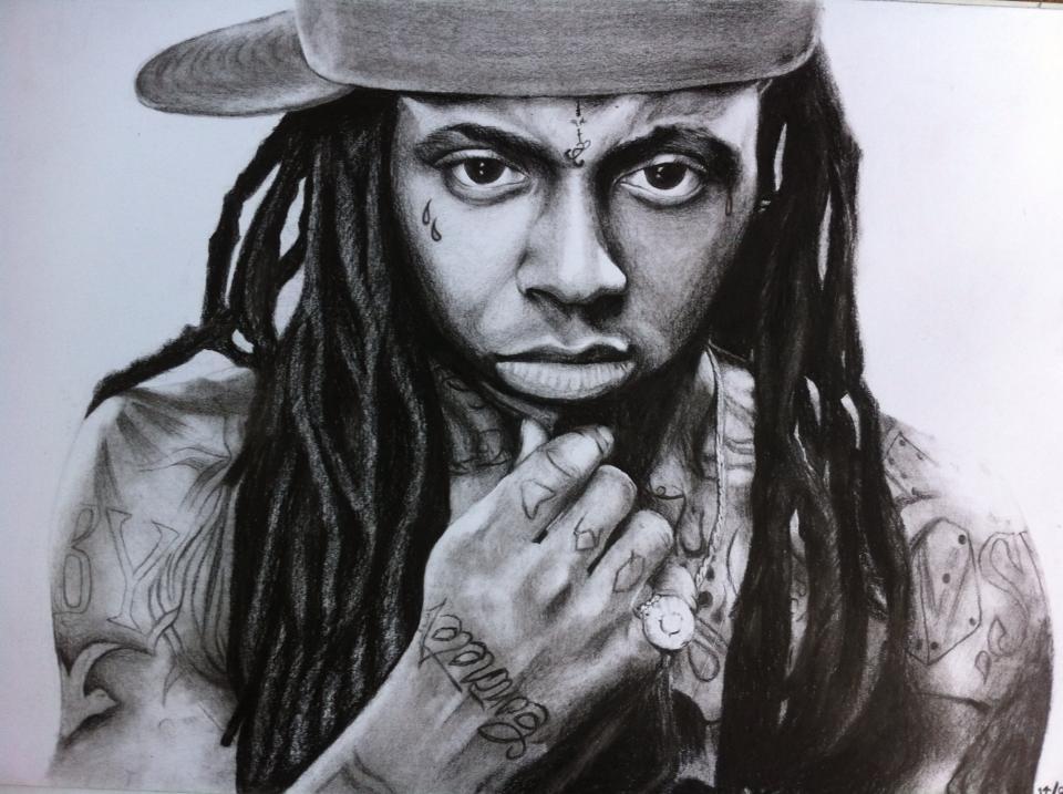 Pencil Drawings Of Lil Wayne Lil Wayne Drawing By P...