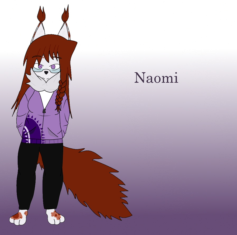 Naomi (OC) by TheMadBananaDoctor