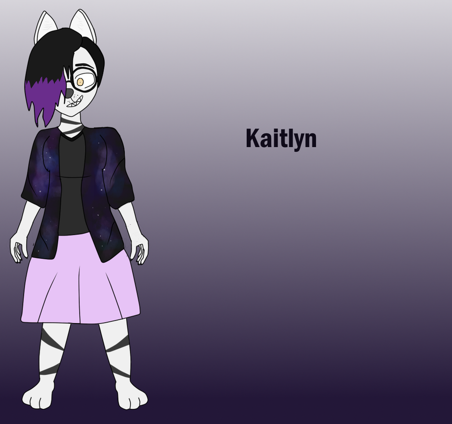 Kaitlyn (OC) by TheMadBananaDoctor