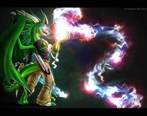 commission: Luminous Power