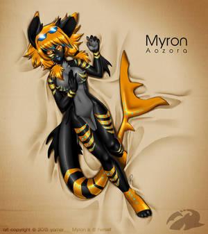 Character auction winner: Myron