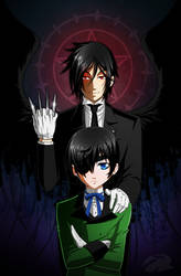 The Black Butler by yamer