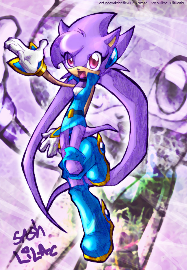Sash Lilac by yamer