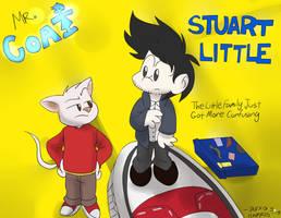 Mr. Coat and Stuart Little by TSH678