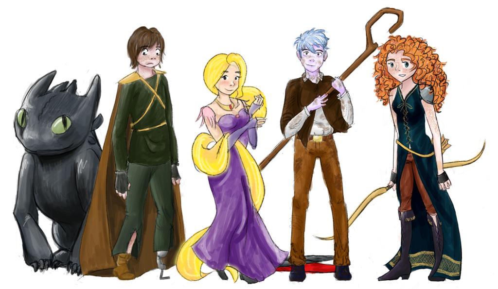 Fantasy AU by TheFluffySwede