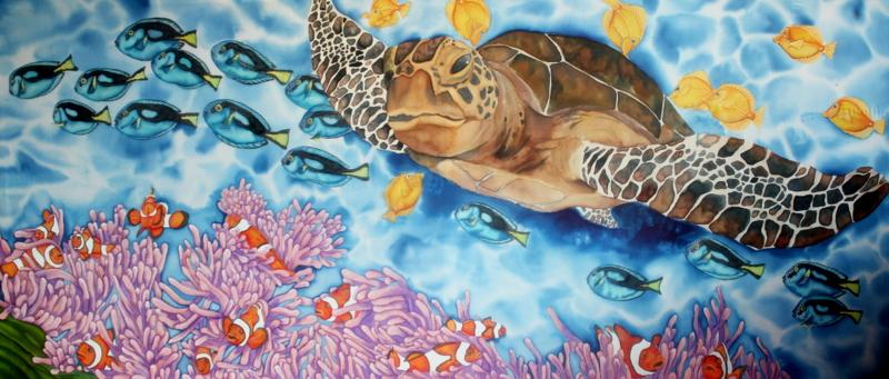 Coral reef by Ivetaaa