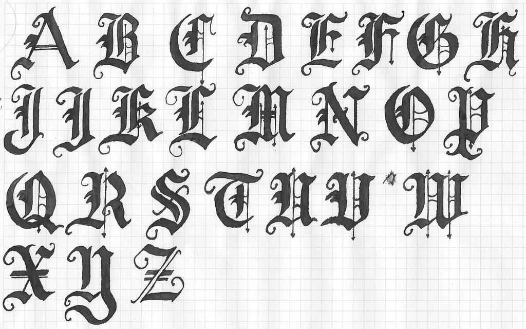 Old english letters by kaitolady on deviantart old english letters by kaitolady thecheapjerseys Choice Image