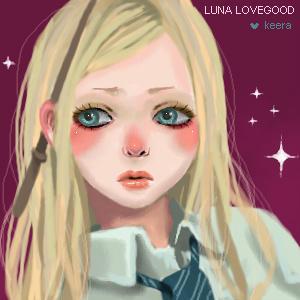 Luna Lovegood again by keerakeera