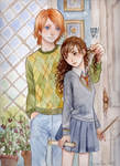 Ron and Hermione -accuareil- 2