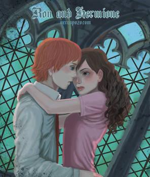 Ron + Hermione ohlala xD