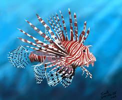Lionfish Painting Challenge