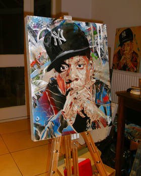 Jay Z painting