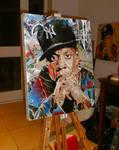 Jay Z painting by artbydavidc