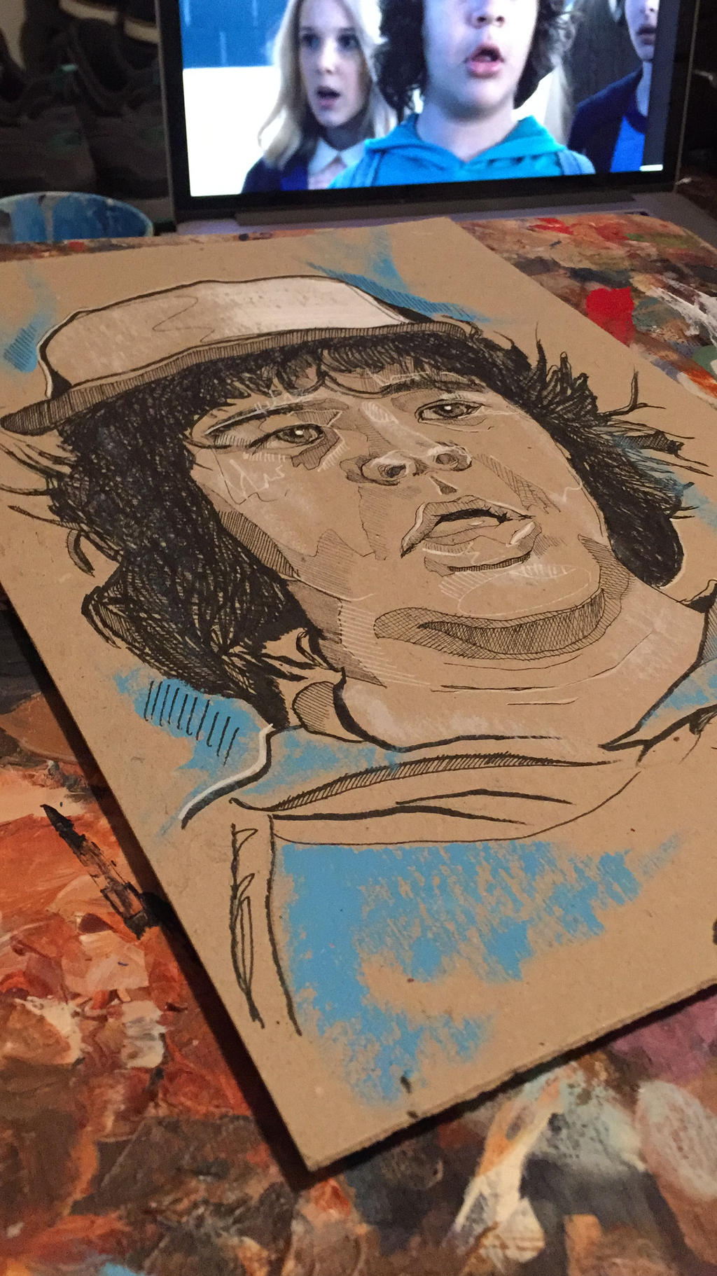 Dustin - Stranger Things by artbydavidc