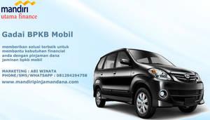 Gadai Bpkb Mobil by mandiripinjamandana