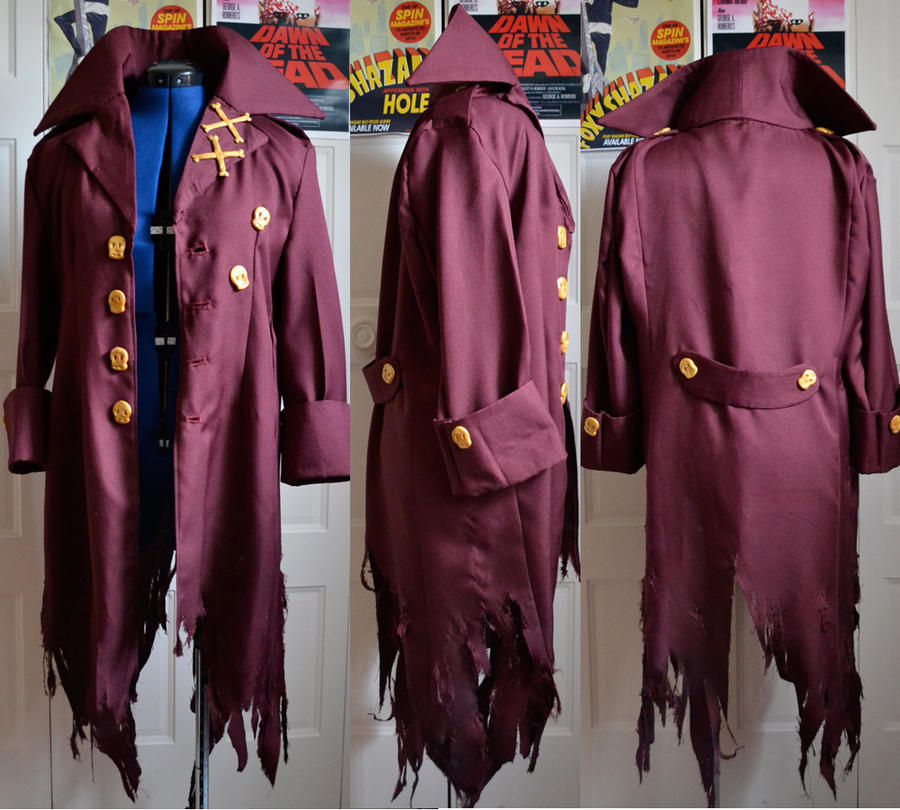 Amaimon Coat by lemontuned