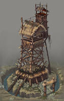 A tower for the bad guys. by Jonik9i