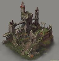 The ruin. by Jonik9i