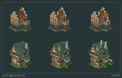 Buildings for game. Part 3
