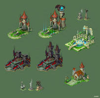 Buildings for game 3 by Jonik9i