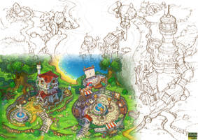 Art for animated cartoon. Overview. by Jonik9i