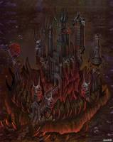 Art for game. Demon. by Jonik9i