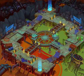 Concept for the game location 4 by Jonik9i
