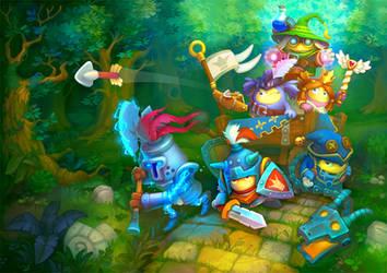 Game art by Jonik9i