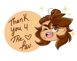 Fav Thank You by KITTIESANDBEARS101