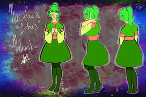 .:Mirai no Senshi Files:. Nucifera 'Lotus' Nulembo by TechnicalTechnicolor