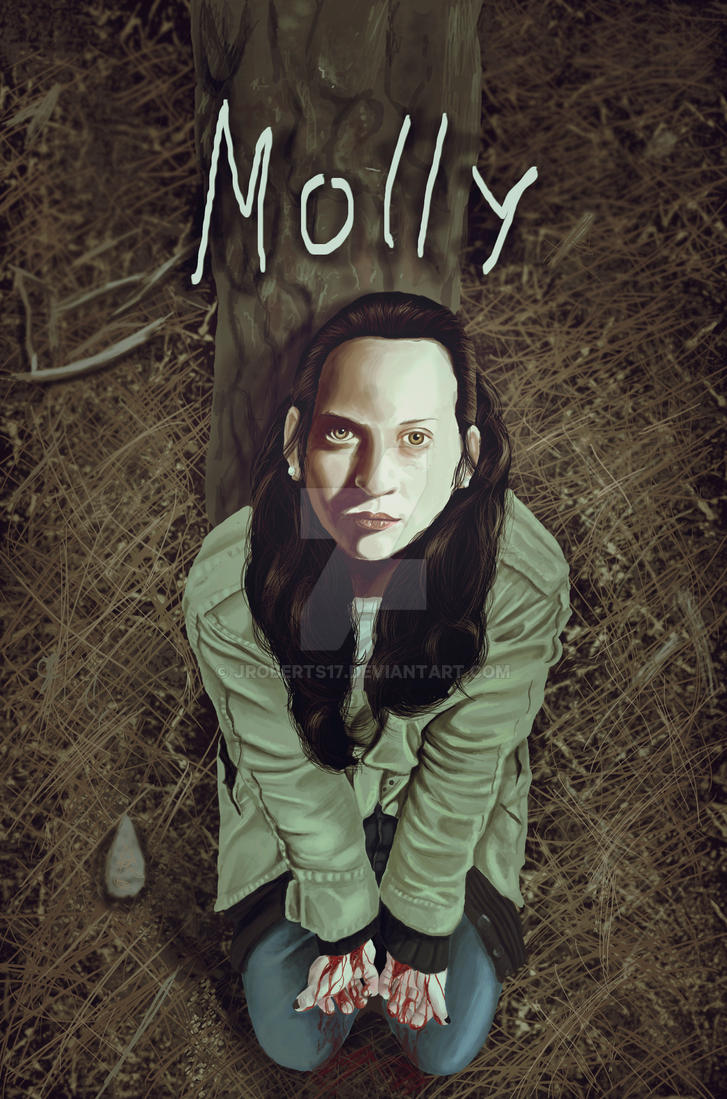 Molly cover for john burton comic by jroberts17