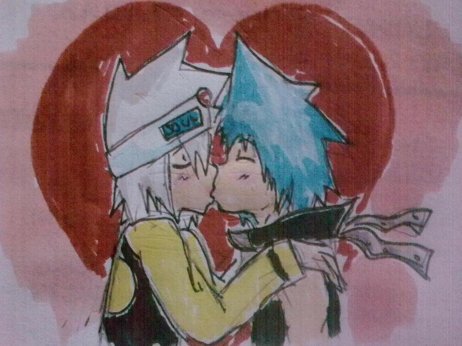 Soul x Black Star Colored by Hukkis