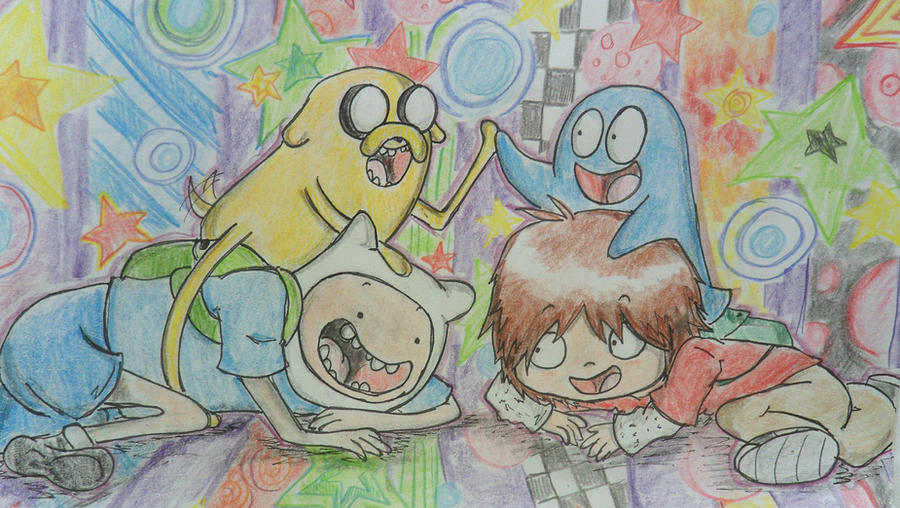 Adventure Time+Fosters Home For Imaginary Friends By