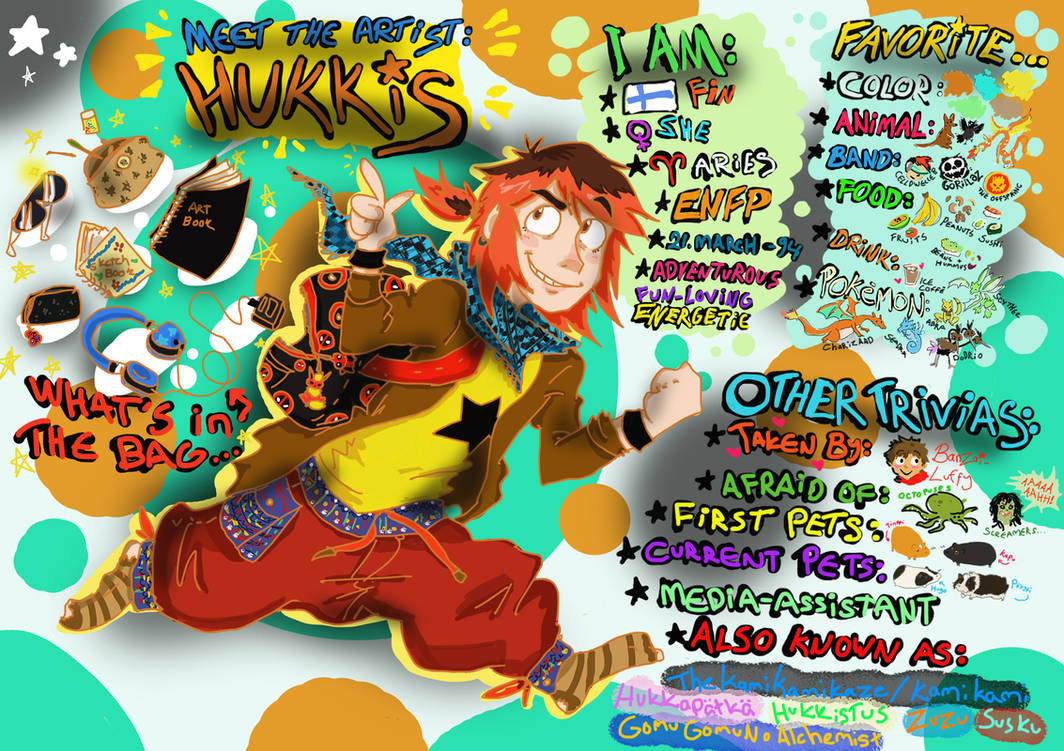 Meet The Artist: Hukkis !