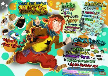 Meet The Artist: Hukkis ! by Hukkis