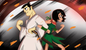 Ashi and Jack - I Got Your Back ! by Hukkis