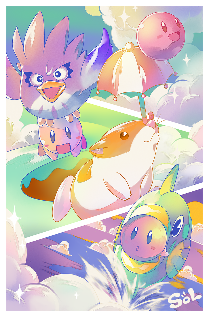 Kirby's Dream Land 2 by starbandits