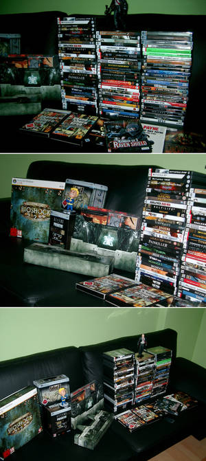 my pc-games collection new pic