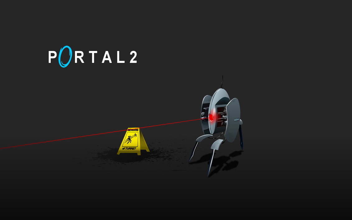 Portal turret v2 oh nooo by 3xhumed on deviantart for 3 portals