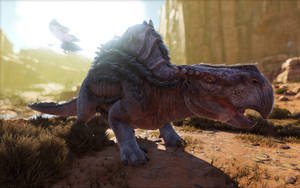 ARK  Survival Evolved S- Morellatops by 3xhumed