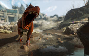 ARK  Survival Evolved Trex by 3xhumed