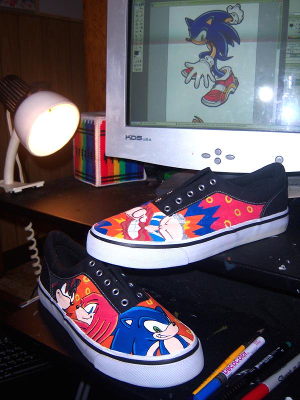 Sonic Vans By Chylde On Deviantart