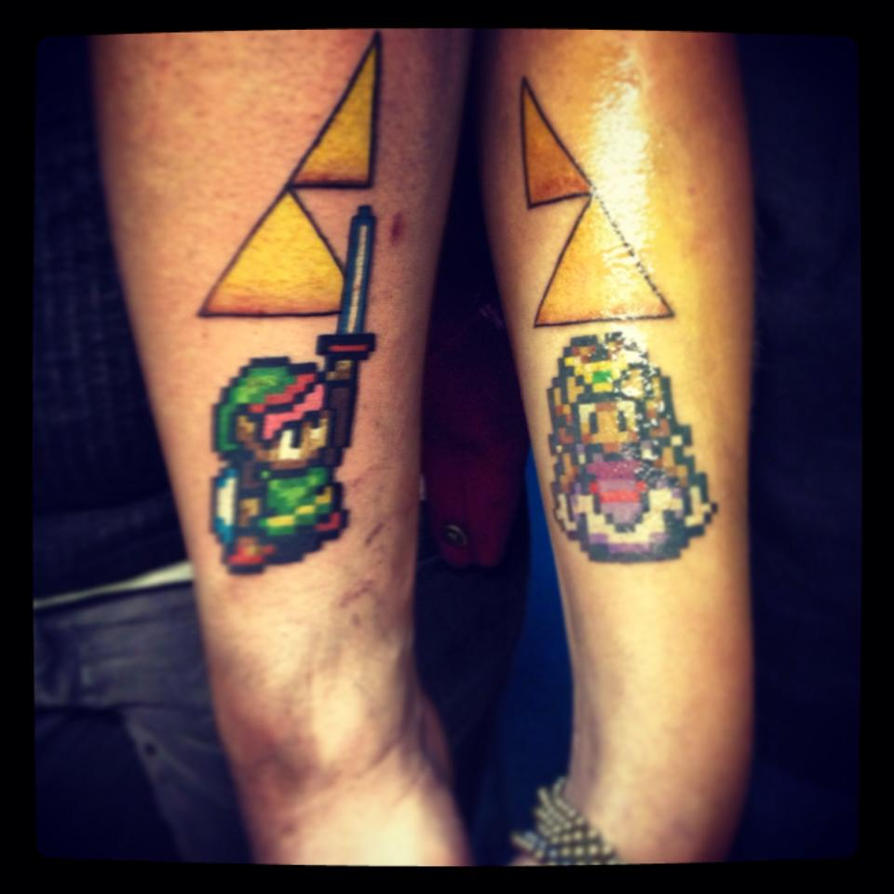 Courage wisdom power love by chylde on deviantart for Triforce hand tattoo
