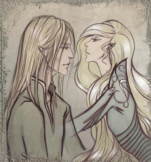 Elves. Lolwhat? : Lirian and.... by weapon-S